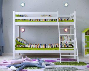 """Двухъярусная кровать из массива """"Сонечка"""""""